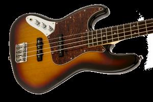 Squier Jazz Bass Vintage Modified 3 Color Sunburst Rosewood Mancino