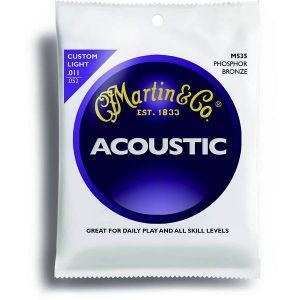 Martin M535 per chitarra acustica Phosphore Bronze Custom Light 011-052
