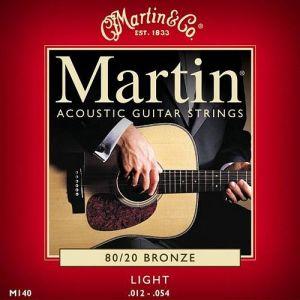 Martin M140 per chitarra acustica Light 012-054