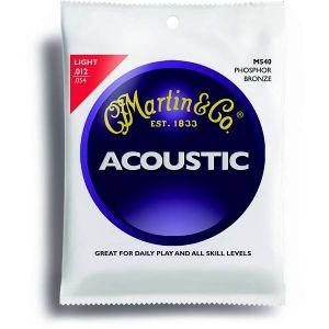 Martin M540 per chitarra acustica Phosphore Bronze Light 012-054
