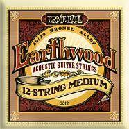 Ernie Ball 2012 Earthwood 12 Corde Medium .011-.52