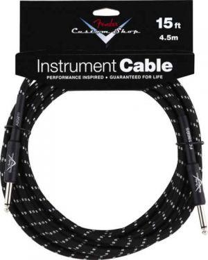 Fender - Custom Shop Cable 15 Ft. Black Tweed - Cavo per Chitarra