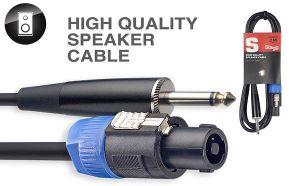 Stagg SSP2SP15 Speak-on/Jack Standard Speaker Cable 2 mt. Cavo Cassa
