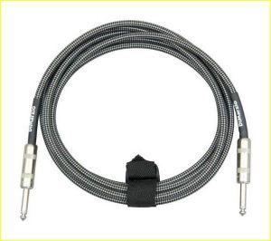 DiMarzio EP1715SSBKGY 4,5m nero/grigio Cavo Jack-Jack