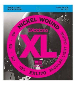 Daddario EXL170 Nickel Wound Bass Light 45-100 Long Scale