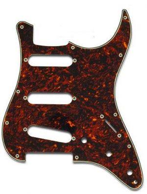 Parts Planet ST62TOY3P Battipenna per chitarra elettrica tipo Strato Tartarugato