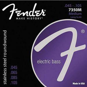 Fender 7350M Stainless Bass Strings 045-.105