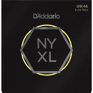 D'Addario NYXL0946 Nickel Wound Super Light w/Regular Bottom 09-46