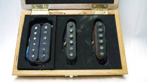 Flametone Pickups Custom HSS Set 60s Stratocaster Heavily Aged