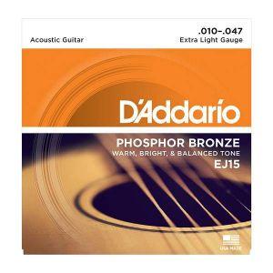 D'Addario EJ15 Phosphor Bronze 10/47