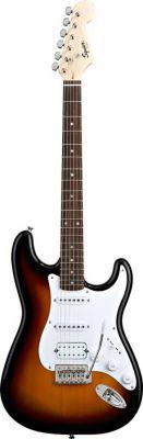Squier Stratocaster Bullet HSS Brown Sunburst