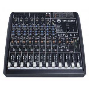 Topp Pro TP MX1222FX Mixer 12 Canali con Effetti Gruppi Fader
