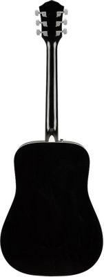 Fender FA125 Dreadnought Walnut Fingerboard Black