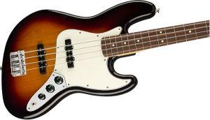Fender Player Jazz Bass Pau Ferro Fingerboard 3-Color Sunburst