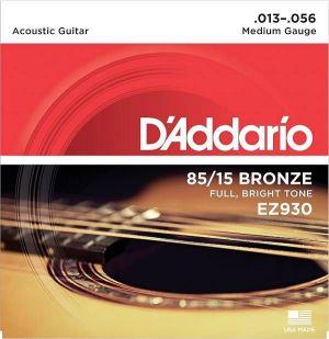 D'Addario EZ930 Corde Acustica Medium 13-56