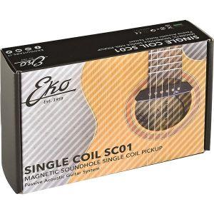Eko SC01 Magnetic Soundhole Single Coil Pickup da Buca per Acustica
