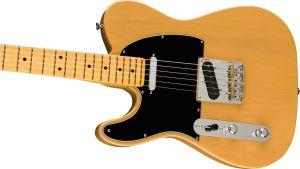 Fender American Professional II Telecaster Left-Hand Maple Fingerboard Butterscotch Blonde Mancina