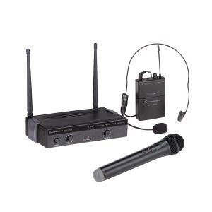 Soundsation WF-U24HP Radiomicrofono UHF 1 Palmare 1 Headset