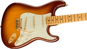 Fender 75th Anniversary Commemorative Stratocaster Maple Fingerboard 2-Color Bourbon Burst