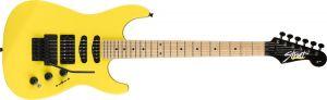 Fender Limited Edition HM Strat Maple Fingerboard Frozen Yellow