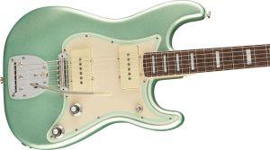 Fender Parallel Universe II Jazz Strat Rosewood Fingerboard Mystic Surf Green
