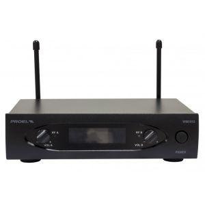 Proel Eikon WM101DH V2 Set Doppio Radiomicrofono UHF ad Archetto