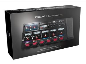 Zoom G11 Pedaliera Multieffetto Amp Simulator e Interfaccia Audio